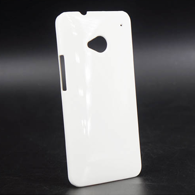 For HTC M7 Mobile Phone Blank Solid 3d DIY Printing Sublimation Phone Case