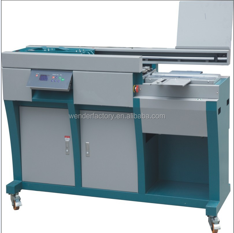 Perfect Book Glue Binder with Side Gluing (WD-60HA4)