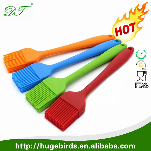 Set of 4 Silicone Pastry Basting Grill Barbecue Brush