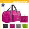 Promotional Polyester Travelling Bag Folded As Pocket Pouch