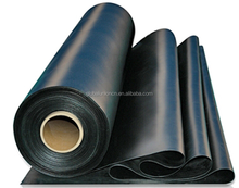 2.0mm Roof coating Epdm rubber waterproof in rolls for flat roof