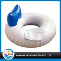 advertising animal shaped inflatable swim ring for babies