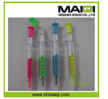 promotional custom Syringe highlighter & ball pen