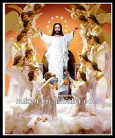 Promotional 3D picture Custom shape 3d pictures of jesus