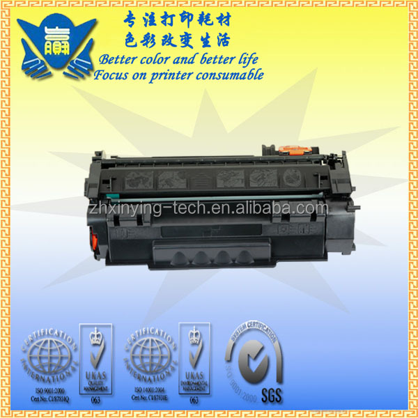 Hot selling 53A Toner Cartridge 5949A for HP laserjet 3390