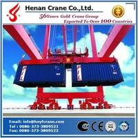56 year old RTG rail mounted container gantry crane