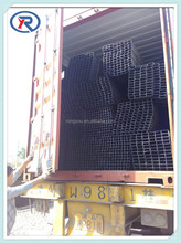 high quality welding steel square pipe/tube for building material