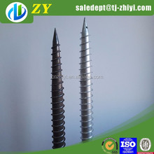 fence post metal anchors earth post ground screw anchor