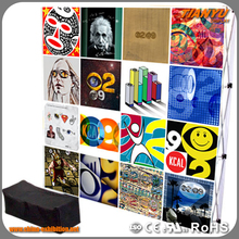 Cost-Effective Modern Style Custom Print Fabric Pop Up Display Stands