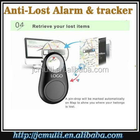 Wireless Bluetooth mini portable anti lost alarm gps tracker