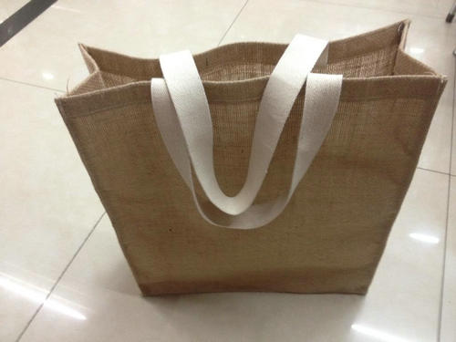 Eco-friendly Shopping Burlap Bag With Shoulder Jute Plain Bags