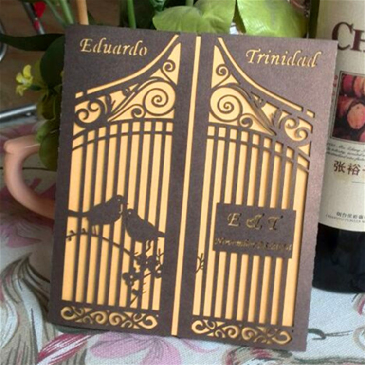decorative bird cages for weddings new laser cut love birds invitations cards for wedding china wholesale