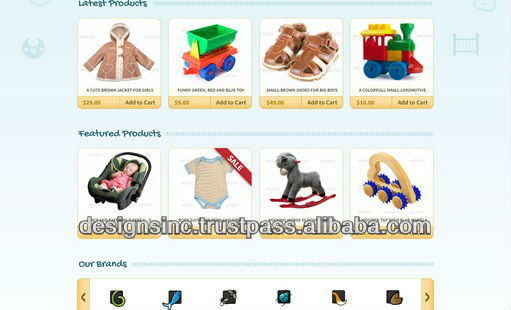 wholesale online store design and development