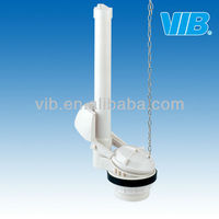 Toilet cistern mechanism toilet flush valve of dual flush flapper valve for one-piece toilets