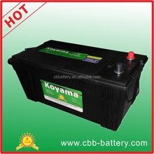 cheap price 24V 200ah big size truck auto battery N200