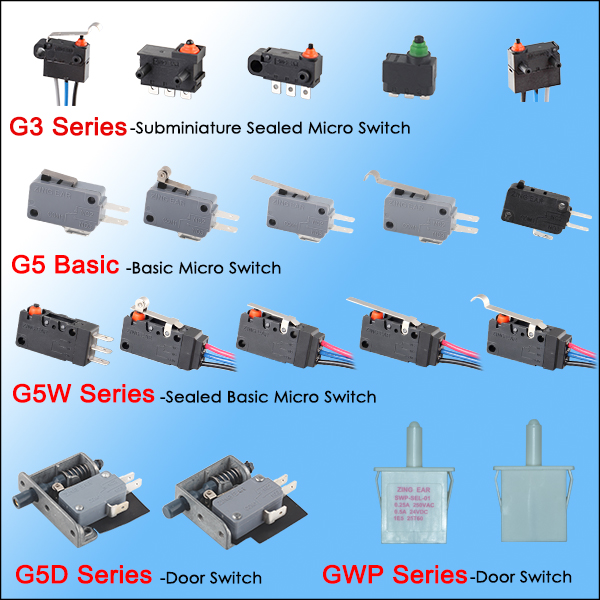 2018 Hot Sale Best Quality 250v Ac Micro Switch T15 5