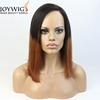 Joywigs hair brand supply bob wig 12inch 130% density short cut ombre full lace wigs
