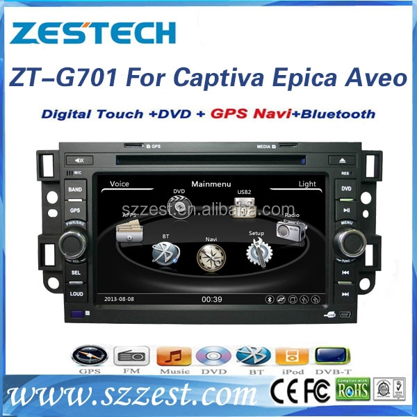 Dvd car audio navigation system for Chevrolet Captiva Epica Aveo accessories gps navigation system