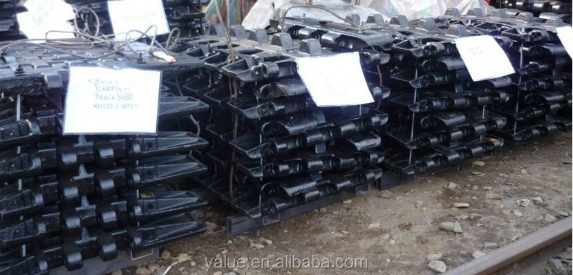 Aftermarket Replacement Part KOBELCO FS90 Crawler Crane Track Shoes