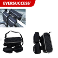 Bike Bicycle Frame Top Tube Pannier Bag with Rainproof Cover for Mountain Road Bike