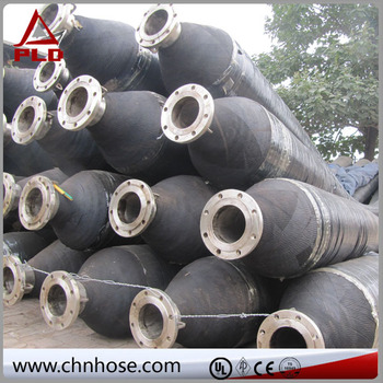 Marine floating rubber oil hose