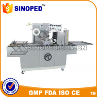 automatic cigarette cellophane wrap machine / automatic cigarette packing machine / small cigarette box packing machine
