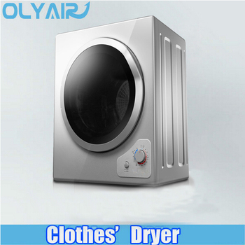 2017 Olyair Class A Stainless steel drum 5.5kg electric tumble clothes dryer, compact dry laundry machine
