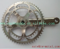 xacd made titanium bicycle crankset titanium chainring titanium spider