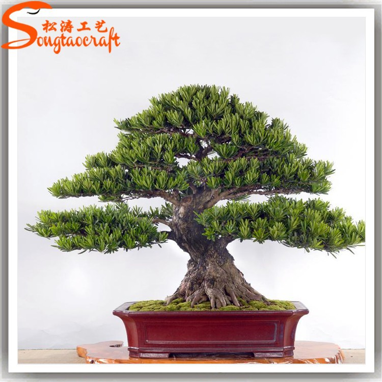 Backyard Bonsai Trees : Wholesale Outdoor Types Of Bonsai Trees Artificial Plastic Bonsai Tree