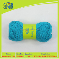 top 10 best selling cheap price cotton yarn from fancy yarn suppliers in China