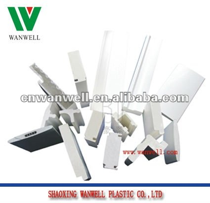 plastic extruded PVC foam profiles for window blind