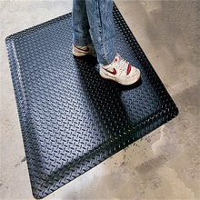 Fashionable Plastic PVC Protective Bathroom Floor Mat For House Cushion Fabric