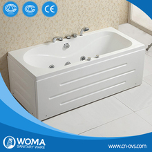 Simple Family Acrylic Massage Bathtub Q109B