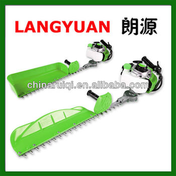 Two stroke robot hedge trimmer garden cutting tools