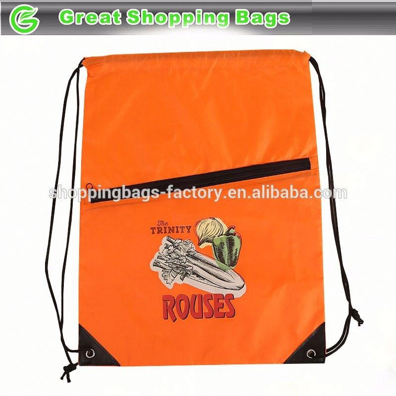 Rouses printing drawstring backpack
