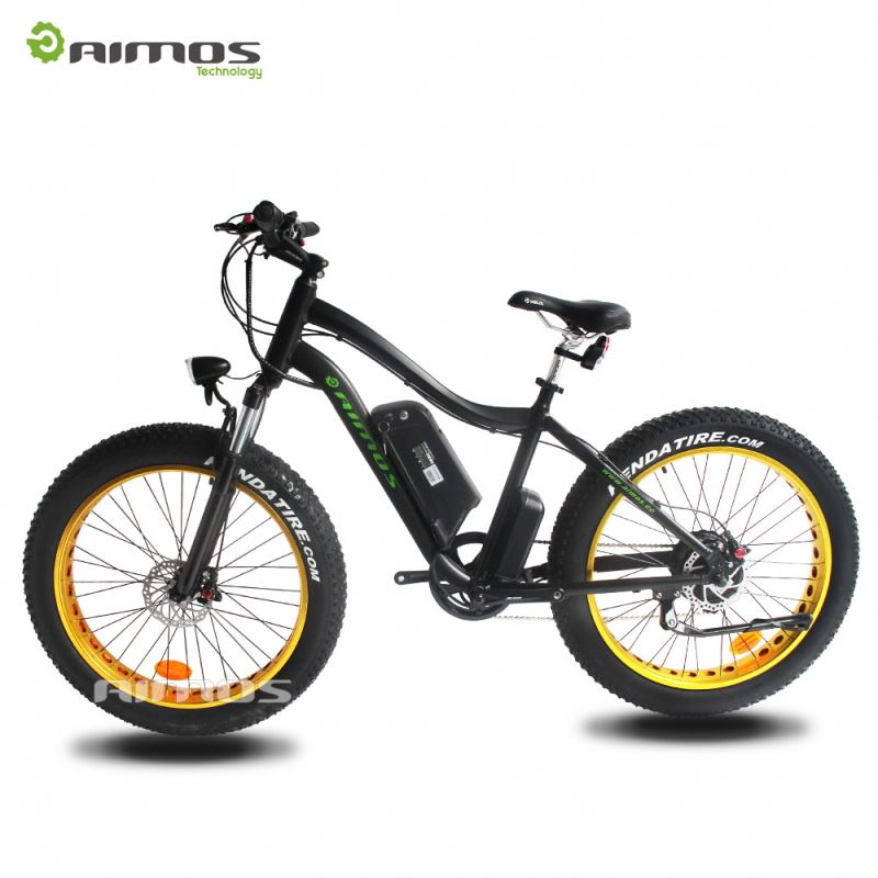 26 Inch PAS systrm fat Tire Snow/mountain Electric Bike