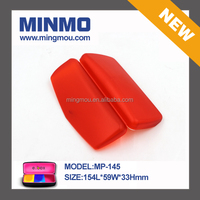 red pp material small plastic case, Optical Frame plastic carrying case, waterproof plastic carrying case