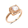 Wholesale cheap fashion jewelry big ring luxurious big fake diamond cz engagement wedding ring