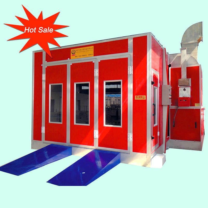 High performance good quality car spray booth for sale