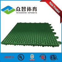 Outdoor badminton court flooring company in China