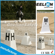 Practical riding high strength Plastic pvc Horse Portable And Movable Dressage Arena