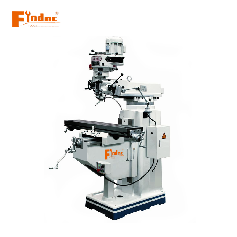 Factory Price taiwan head turret milling machine swivel small cnc live tool lathe