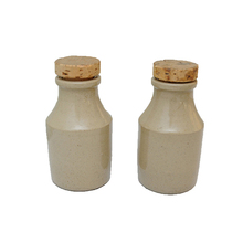 Rustic Vinegar and Oil Bottles Ceramic Food Bottle