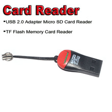 New 2017 Smart USB Card Reader,USB 2.0 Adapter Card Reader ,TF Flash Memory cardreader Free shipping