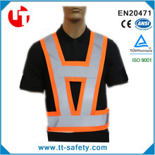polyester high visible reflective vest safety products for cars