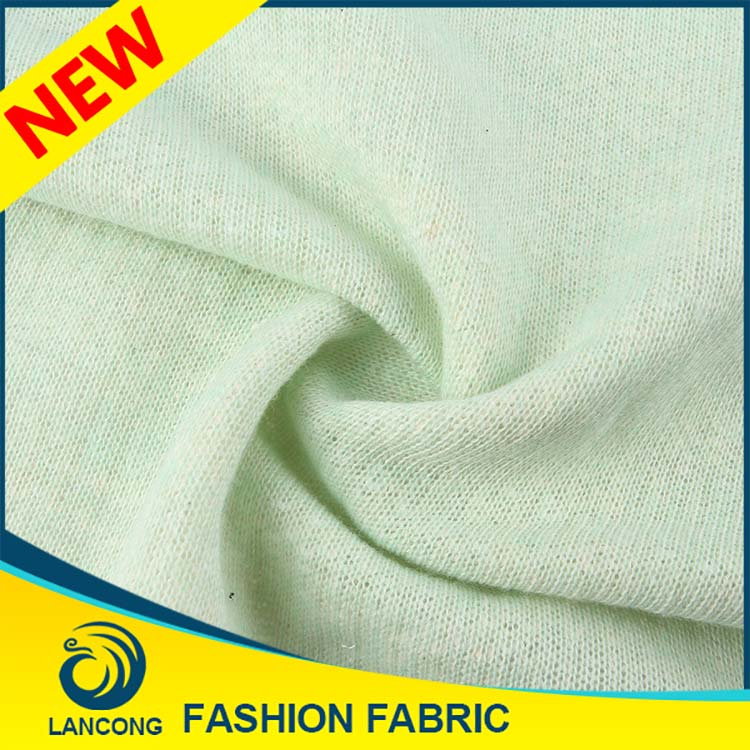 High quality Latest design Elastane cotton terry towel fabric forneck design for tops sweater design for girls