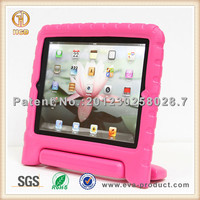 For apple ipad mini eva foam shockproof case with stand handle