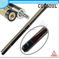 Best quality 58 inch Canadian Maple Wood 1/2 Jointed Pool Cue Stick Billiard Cue With Quick Release Joint