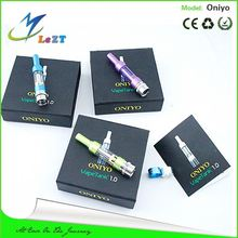 HOT !!! Latest and fashionable design original oniyo atomizer lowest price ecigator ecig