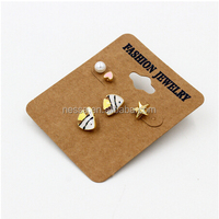 New 2016 Latest Earring Designs 5PCS One card wholesales NS-10601